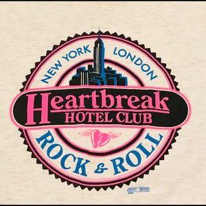 Tops - Vintage grey Heartbreak hotel sweatshirt.